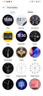 Realme Watch S Pro currently supports over 100 watch faces