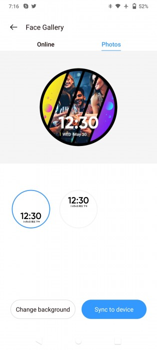 You can create a custom watch face for Watch S Pro using the Realme Link app