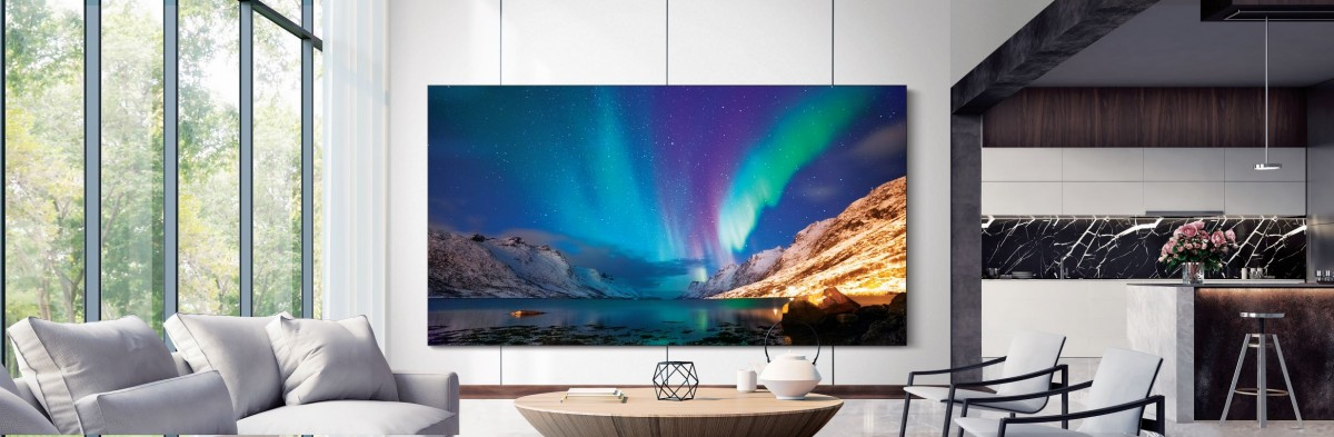 Samsung's 110'' and 99'' micro-LED TVs will be available later this month, more models unveiled
