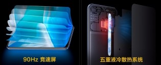 vivo iQOO U3X 5G key features in Chinese