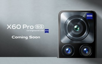 vivo X60 Pro key specs teased ahead of announcement