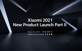 Watch Part 2 of Xiaomi's Mega Launch 2021 event live here
