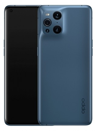 Oppo Find X3 Pro in Blue