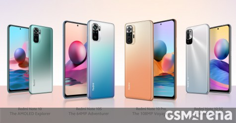 Weekly poll: does the Redmi Note 10 lineup have your next phone? - GSMArena.com news - GSMArena.com