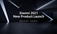 Watch the Xiaomi Mega Launch 2021 event live here