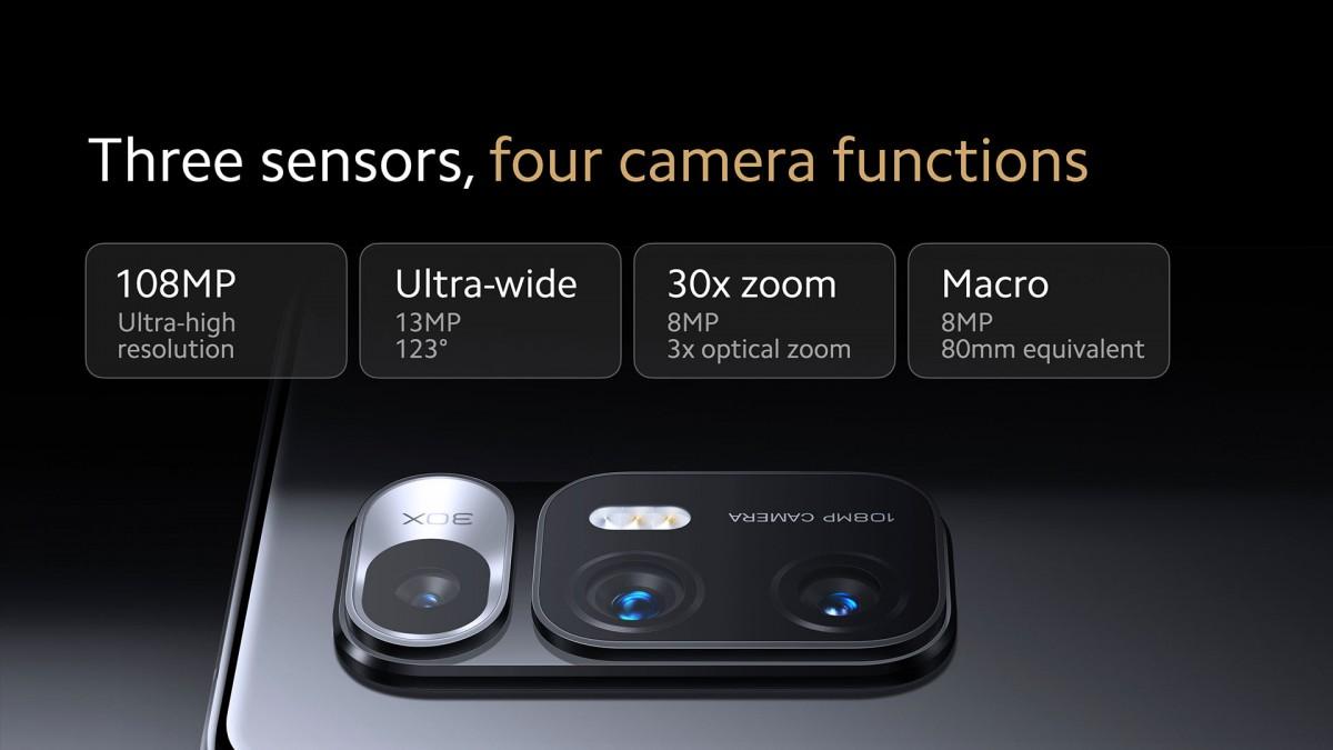 Mi Mix Fold có thể gập lại của Xiaomi mang đến ống kính lỏng đầu tiên có độ phóng đại 3x