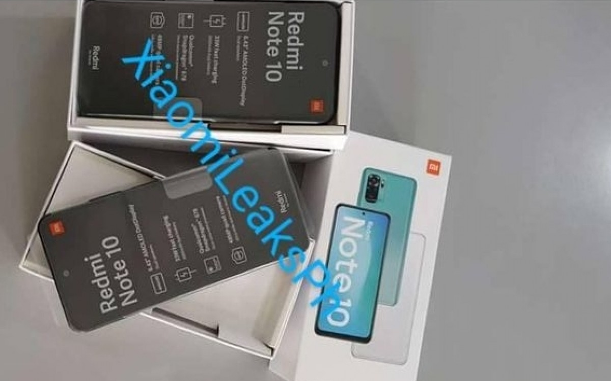 Xiaomi Redmi Note 10 leaks in retail photos with Snadragon 678 chipset