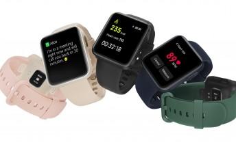Mi Watch Lite updated with auto DND, wrist raise sensitivity, and vibration adjustment