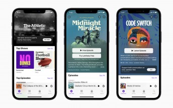 Apple's new Podcasts Subscriptions come with a redesigned app