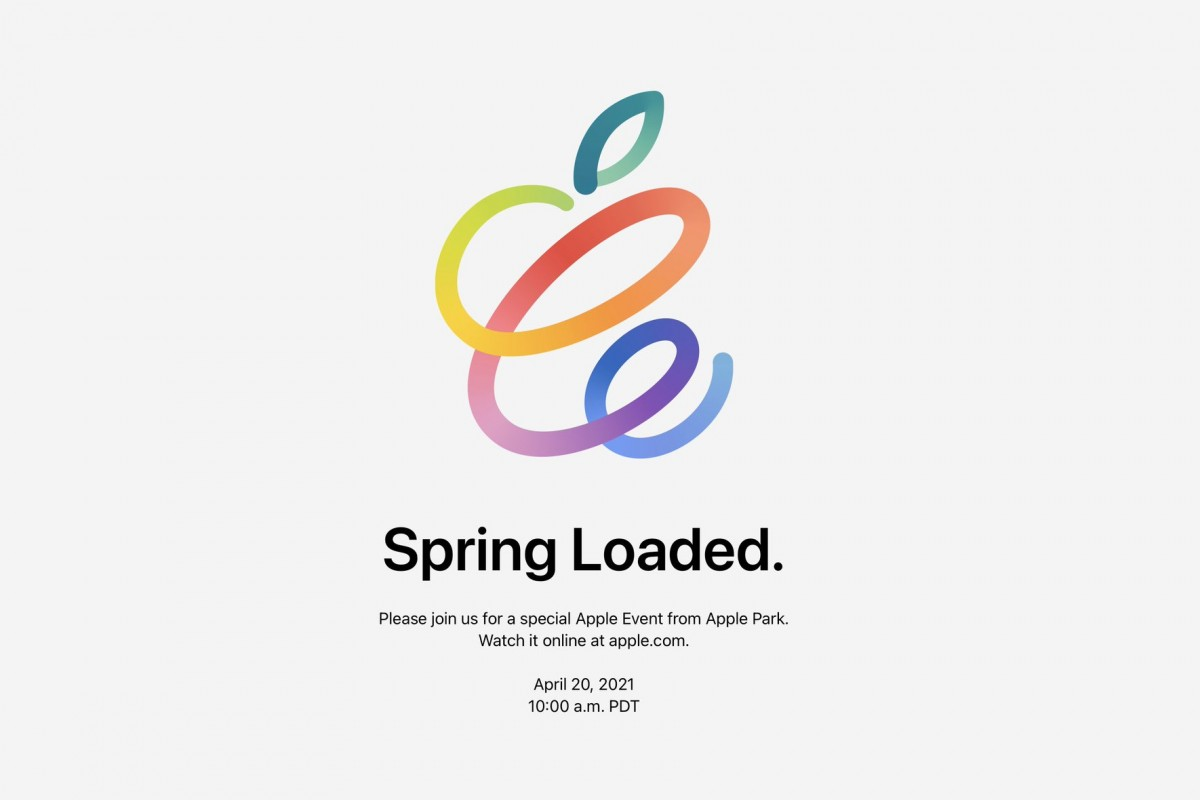 Apple confirms Spring Loaded event will be held on April 20