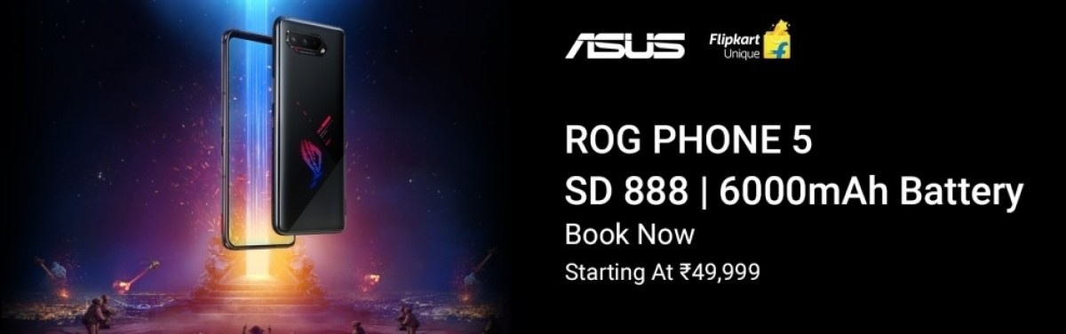 Asus ROG Phone 5 arrives for pre-order in India