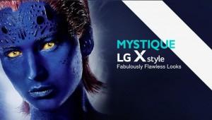 Les téléphones LG X rencontrent les X-men