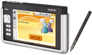 La tablette Internet Nokia 770 de 2005 était une première tentative de
