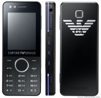 The Samsung M7500 Emporio Armani was also known as the