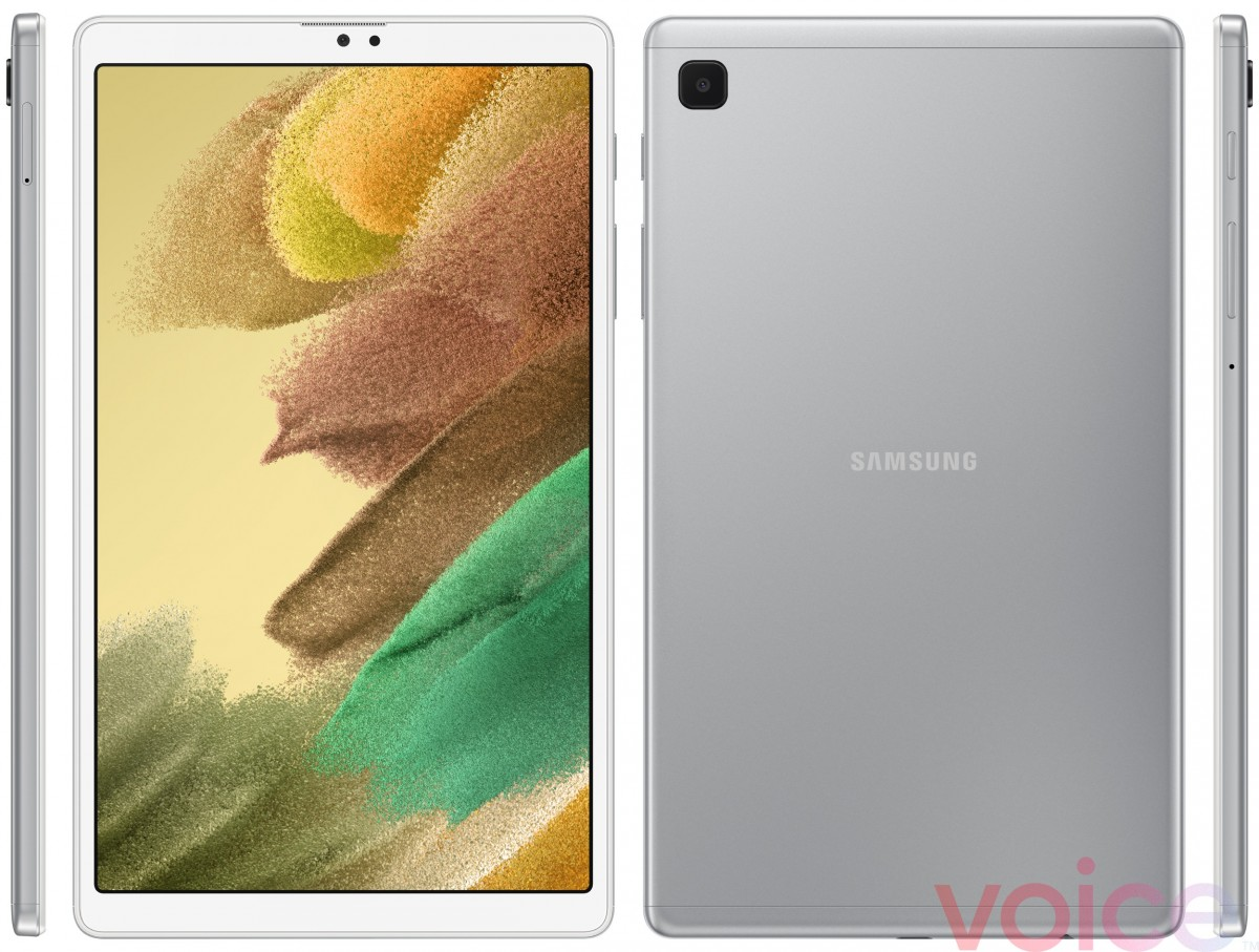 Samsung Galaxy Tab A7 Lite shows up once again, this time in silver