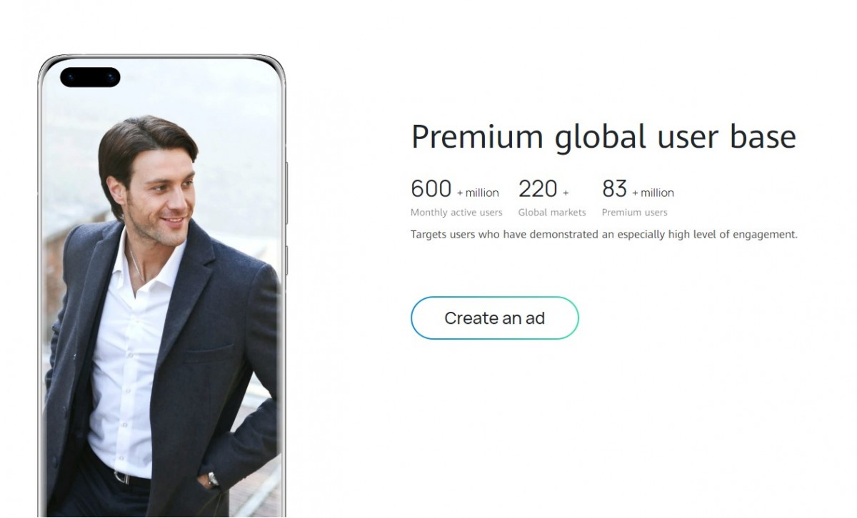 Huawei abre programa de parceria publicitária para anunciantes na Europa