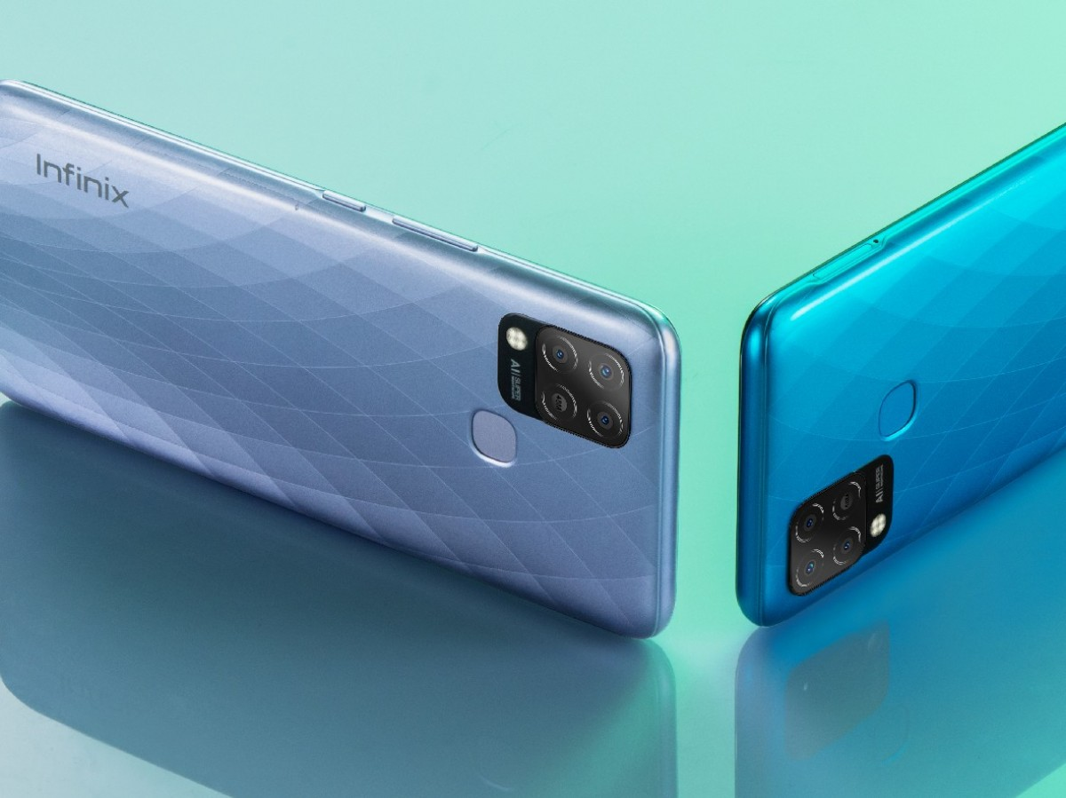 Infinix Hot 10S (and 10S NFC) unveiled with 90 Hz display, Helio G85 chipset and a large battery - GSMArena.com news