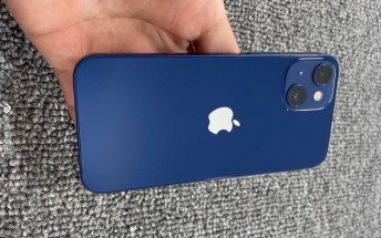 iPhone 13 mini prototype photographed, the two cameras are now laid out diagonally