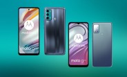 Moto G60 and G20 leak in official looking renders
