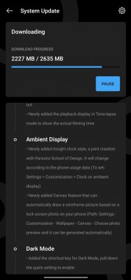 """OnePlus 7 and 7T series receiving the OxygenOS 11.0.0.2 11.0.0.2 (<a href=""""https://forums.oneplus.com/threads/oxygenos-11-0-0-2-for-the-oneplus-7t-pro-and-oneplus-7t.1420069/page-2#post-23077869"""" target=""""_blank"""" rel=""""noopener noreferrer"""">image credit</a>)"""