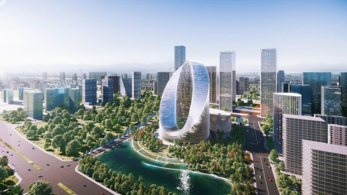 Oppo's new R&D 'O-Tower' unveiled with 'Infinity Loop'