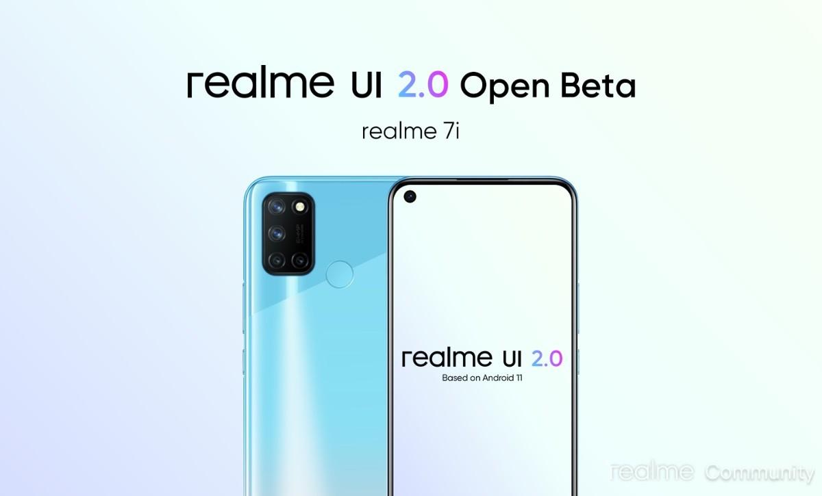 Programa de acesso antecipado Realme UI 2.0 anunciado para C15 Qualcomm Edition, 7i recebe Open Beta