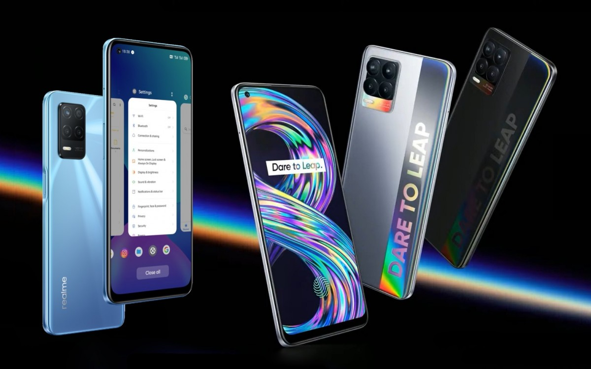 Realme 8 and 8 5G launch across Europe