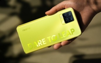 Realme 8 Pro in Illuminating Yellow to arrive for sale on April 26