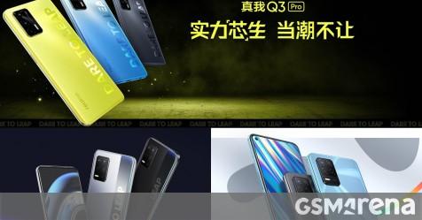 Realme Q3 Pro with Dimensity 1100 unveiled, joined by Q3 (Snapdragon 750G) and Q3i (Dimensity 700) - GSMArena.com news - GSMArena.com