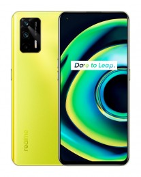 Realme Q3 Pro 5G colorways: Firefly (with glow in the dark logo)