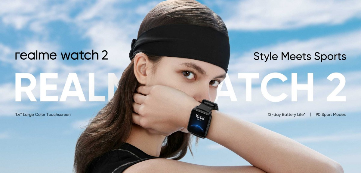 Realme Watch 2 revelado na Malásia