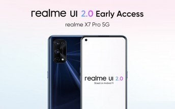 Realme announces Realme UI 2.0 early access program for X7 Pro
