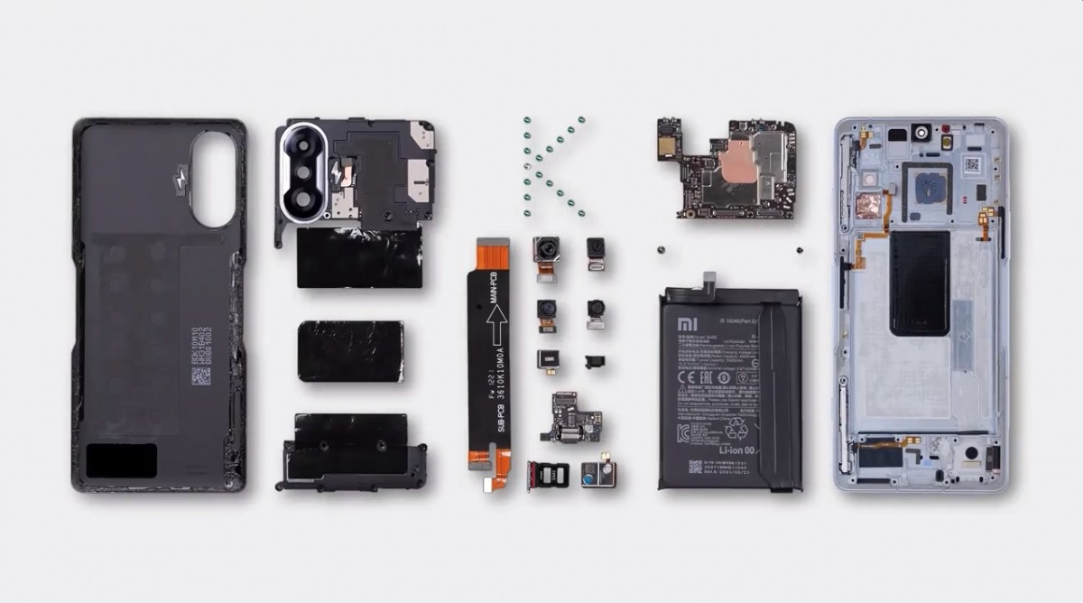 Watch the Redmi K40 Gaming Edition get tore down on video
