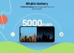 Galaxy F02s: 5,000 mAh battery