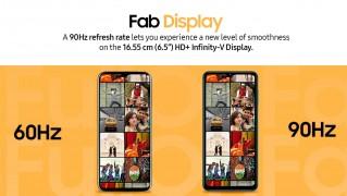 Samsung Galaxy F12: 6.5\
