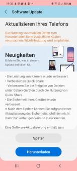 Perubahan pembaruan Galaxy S20 dan S21 series (Sumber: AllAboutSamsung)