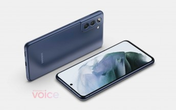 Samsung Galaxy S21 FE first renders pop up online