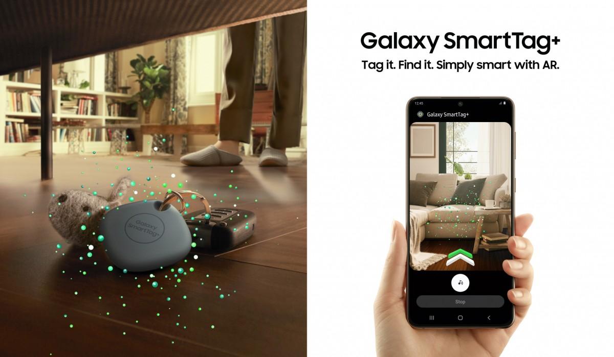 Samsung Galaxy SmartTag + menghadirkan dukungan UWB dan panduan visual AR