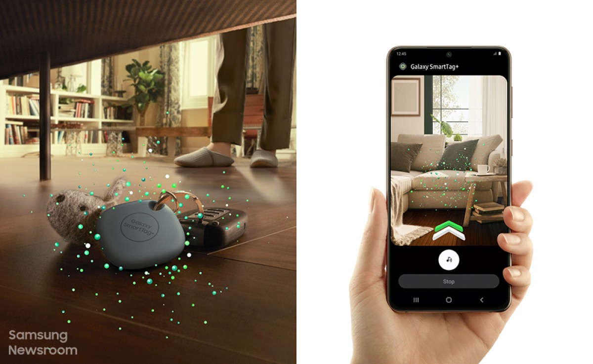 Samsung starts selling the SmartTag+ in South Korea