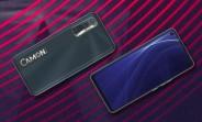 Surfaces Tecno Camon 17 avec chipset Helio G85 et caméra 48MP