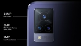Same triple rear camera on all three V21 phones