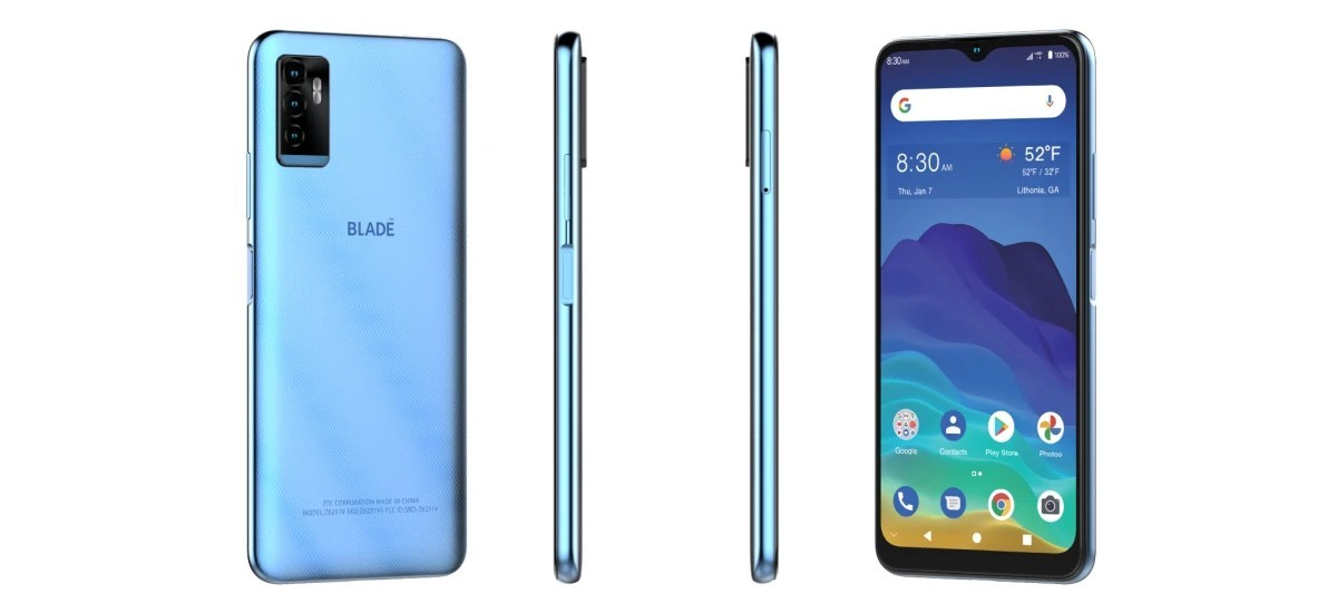 ZTE Blade 11 Prime hits some carriers in the US with under 0 price