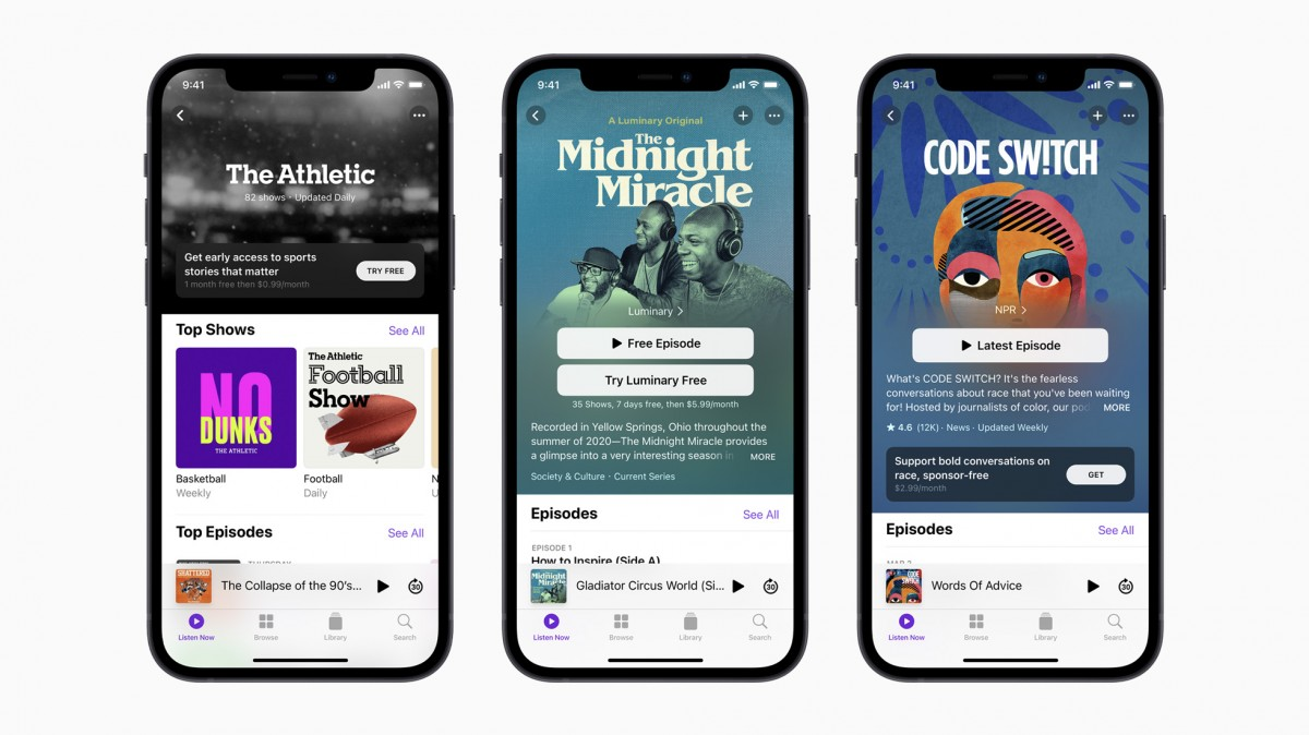 Apple Podcasts Subscriptions service delayed until June