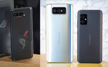 Asus releases updates for the Zenfone 8 and 8 Flip, ROG Phone 5 and 3,Zenfone 6 too