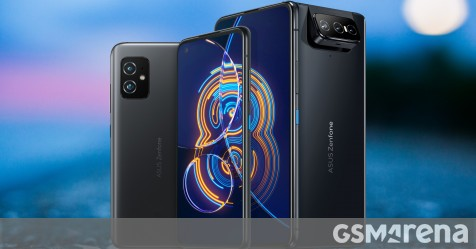 Asus Zenfone 8 is a 5.9″ flagship with an S888 chip, Zenfone 8 Flip keeps rotating cam