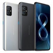 The Asus Zenfone 8 is available in Horizon Silver and Obsidian Black