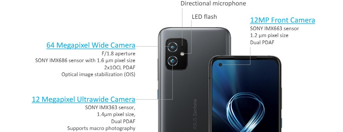 The Asus Zenfone 8 is a 5.9'' flagship with an S888 chipset, the Zenfone 8 Flip keeps the flip up camera