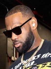 LeBron James wearing Beats Studio Buds