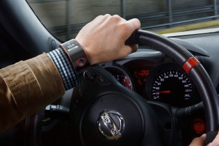 Relógio conceito Nismo da Nissan
