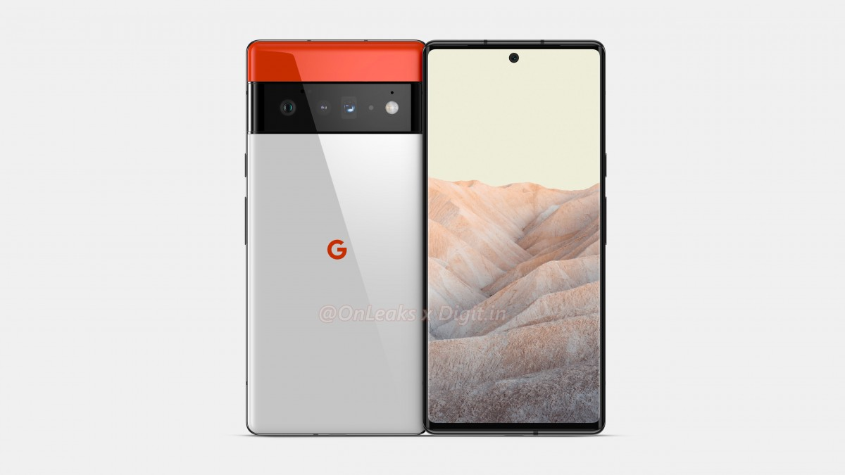 Google Pixel 6 Pro leaks in new renders, display details outed